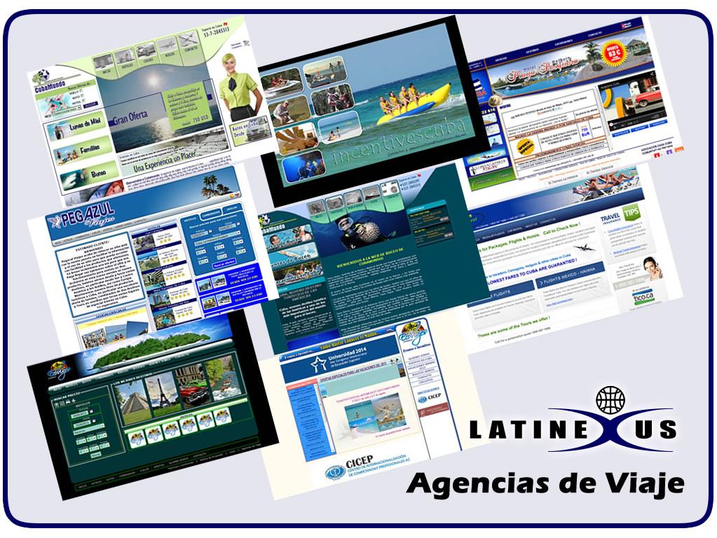 Creación de sitios WEB para agencias de viajes