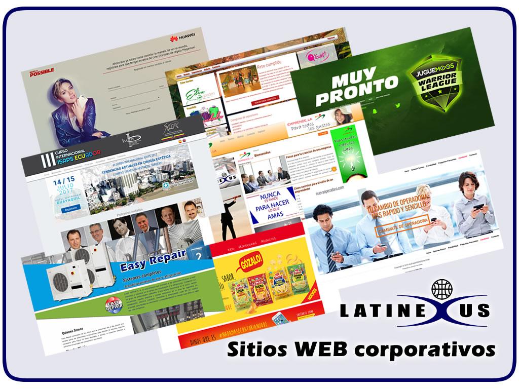 Sitios WEB personalizados